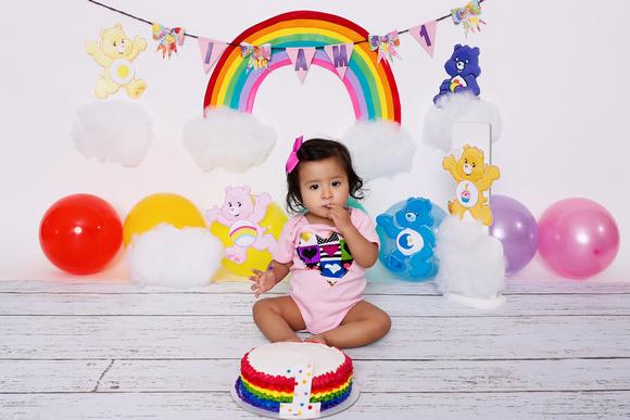 Prime Mary Lugo Photography First Birthday Cake Smash Alyssa Care Funny Birthday Cards Online Alyptdamsfinfo
